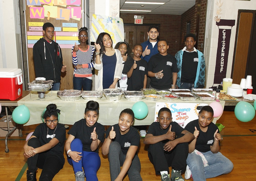 Students earned an estimated $2,000 selling products at the MOB Market Fair.