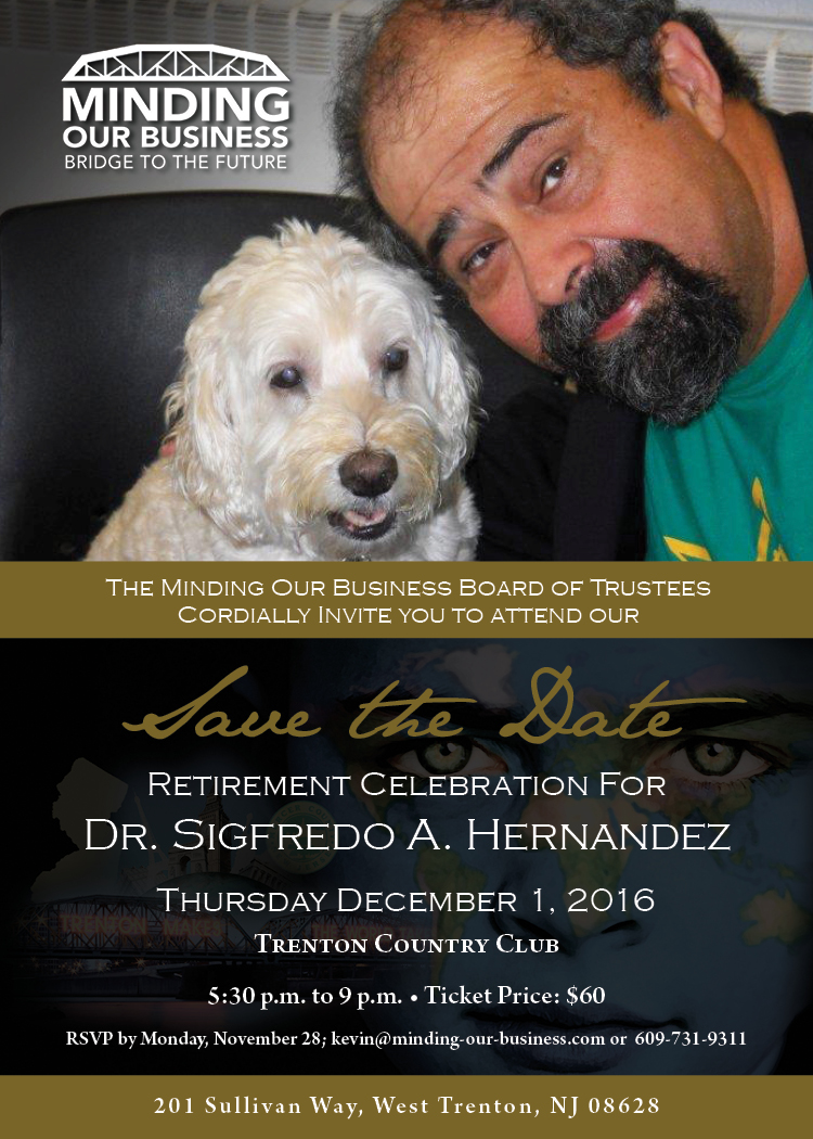 Save the Date - Retirement Celebration for Dr. Hernandez